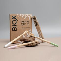 Бамбуковые  зубные щетки BIOX